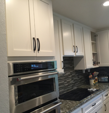 Springs Painting Co - kitchen cabinet repainting