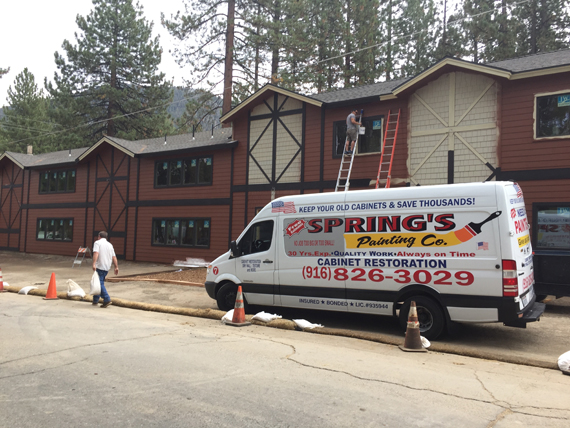 Spring Painting Co - commercial painting
